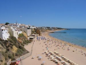Albufeira main beach